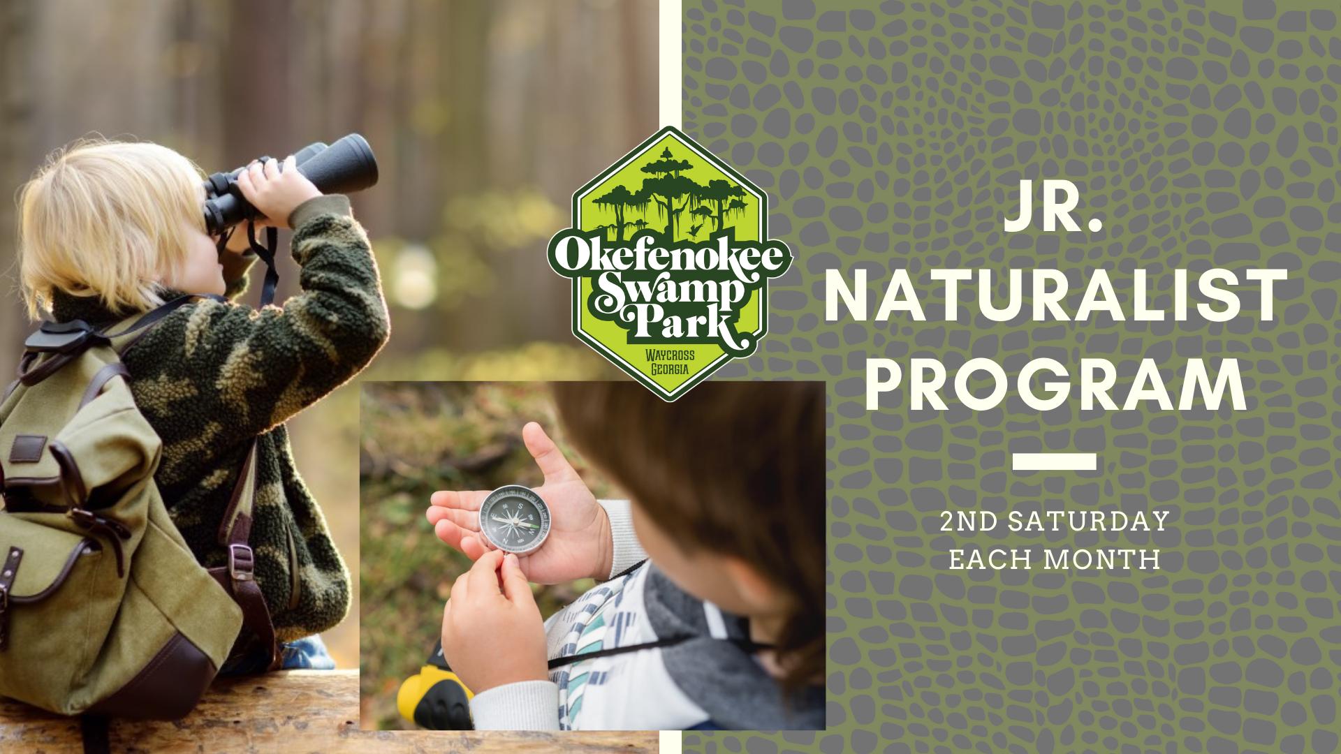 Jr Naturist Program at Okefenokee Swamp Park